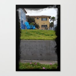 House on The Esplanade Canvas Print