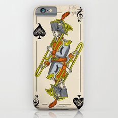 musical poker / trombone iPhone 6 Slim Case