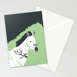 Zebra in the Woods Stationery Cards