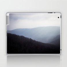 Foggy mountains II. Laptop & iPad Skin