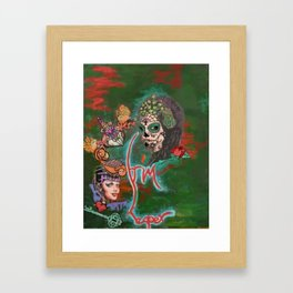 Night of the Dead Framed Art Print