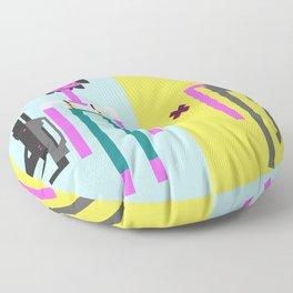 ALIEN(S)³ - Ellen Ripley Icons Floor Pillow