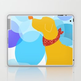Yellow Labrador Dog Laptop & iPad Skin