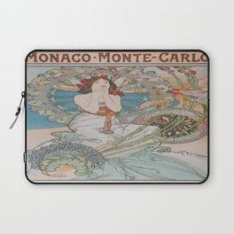 Vintage poster - Monte Carlo Laptop Sleeve
