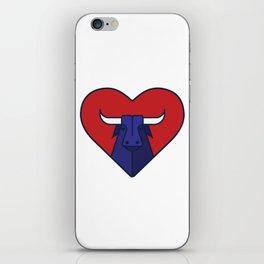 Bullheart iPhone Skin