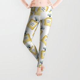 Yellow Parfum Leggings