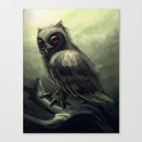 howl Canvas Prints featuring Howl  by Shana Patry