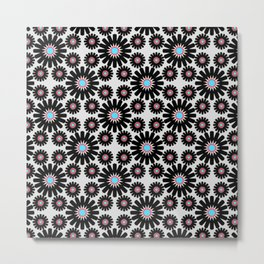 crochet flowers Metal Print