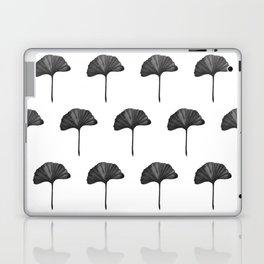Black Ginko Leaf - Minimalist Nature Laptop & iPad Skin