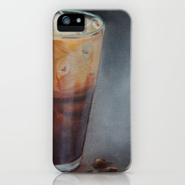 Iced Latte iPhone Case