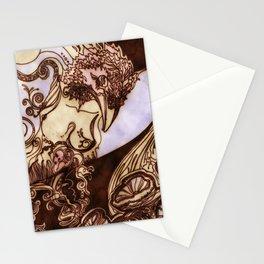 Deep Daze by MaxillaMellifer, aka Rosemary Knowles Stationery Cards