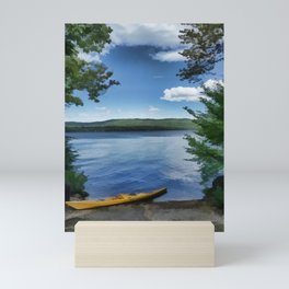 Newfound Lake - Waiting to Launch Mini Art Print