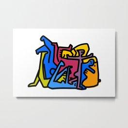 puzzle1 Metal Print