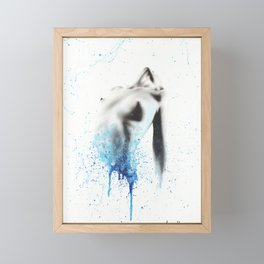 Within Seconds Framed Mini Art Print