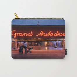 Night shot at Prater amusement park, Vienna Carry-All Pouch