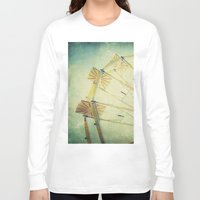 ferris wheel Long Sleeve T-shirts featuring Ferris Wheel by Honey Malek