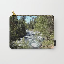Camping, Hiking, and Kayaking on Vallecito Creek Carry-All Pouch