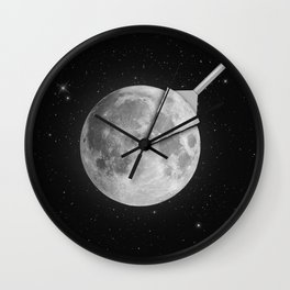 Moon Slice Wall Clock