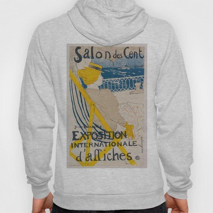 Vintage poster - Salon des Cent Hoody