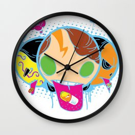 Drugeaters Wall Clock