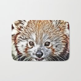 Impressive Animal - red Panda Bath Mat