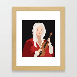 great italian classical music composer Framed Art Print