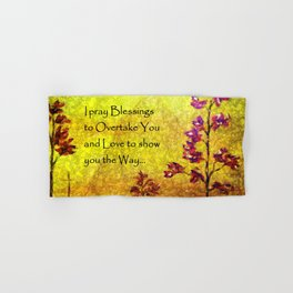 Blessings over You Hand & Bath Towel