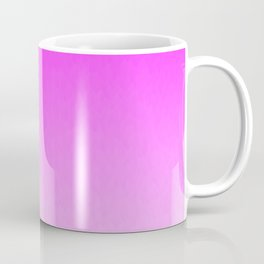 Pink Ombre flames Coffee Mug