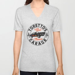 Fast & Furious - Toretto's Garage Unisex V-Neck