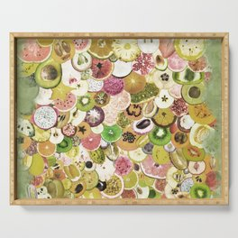 Fruit Madness (All The Fruits) Vintage Serving Tray