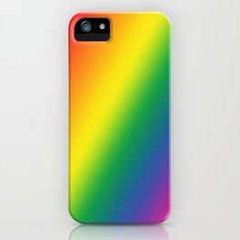 Gay Pride Gradient iPhone Case
