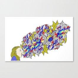 Shout!! Canvas Print