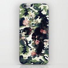 Camouflage Skull iPhone Skin