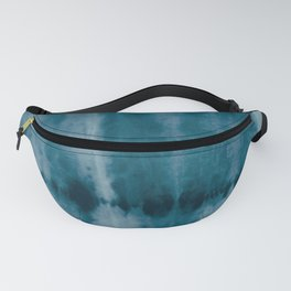 Tye Dye Denim Fanny Pack