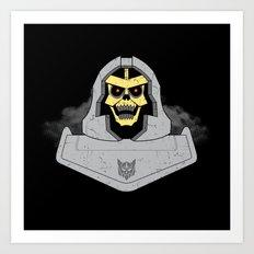 Skeletron Art Print