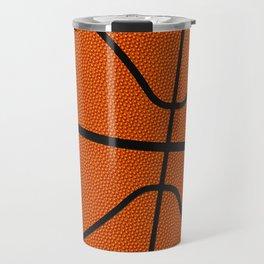 Fantasy Basketball Super Fan Free Throw Travel Mug