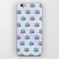 gamer iPhone & iPod Skins featuring Gamer by Krista Rae