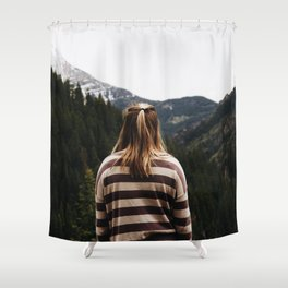 Eyes Forward Shower Curtain