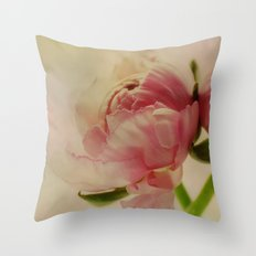 The spring comes Throw Pillow