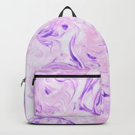 Pink marble texture Backpack