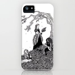 Sister Fair / Fair, Brown, and Trembling iPhone Case