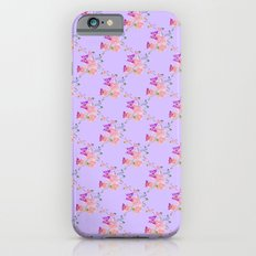 Butterflies Flowers Tiny Hearts Slim Case iPhone 6s