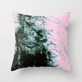 Aliena Attacks Spellcaster I Throw Pillow