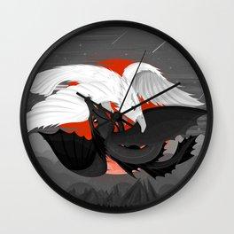The Great Yin Yang Battle Wall Clock