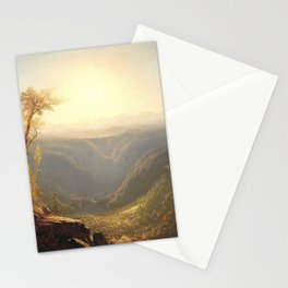 A Gorge in the Mountains by Sanford Robinson Gifford 1862 Stationery Cards