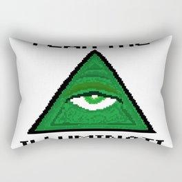 Fear The Illuminati Rectangular Pillow