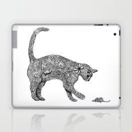 Cat and Mouse Zentangle Laptop & iPad Skin