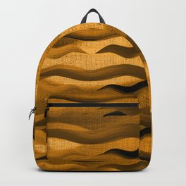 """Abstract Oriental Tiger"" Backpack"
