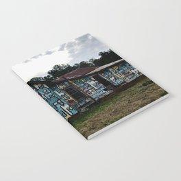 Abandoned house Notebook