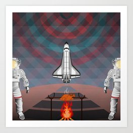 Space Tourism  Art Print